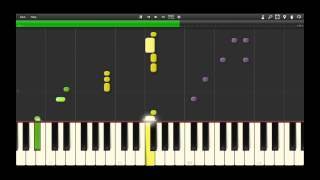 Synthesia - The Fresh Prince of Bel-Air Theme Tutorial