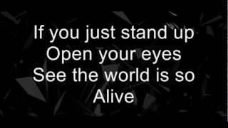 """No Resolve """"So Alive"""" (Lyrics)"""