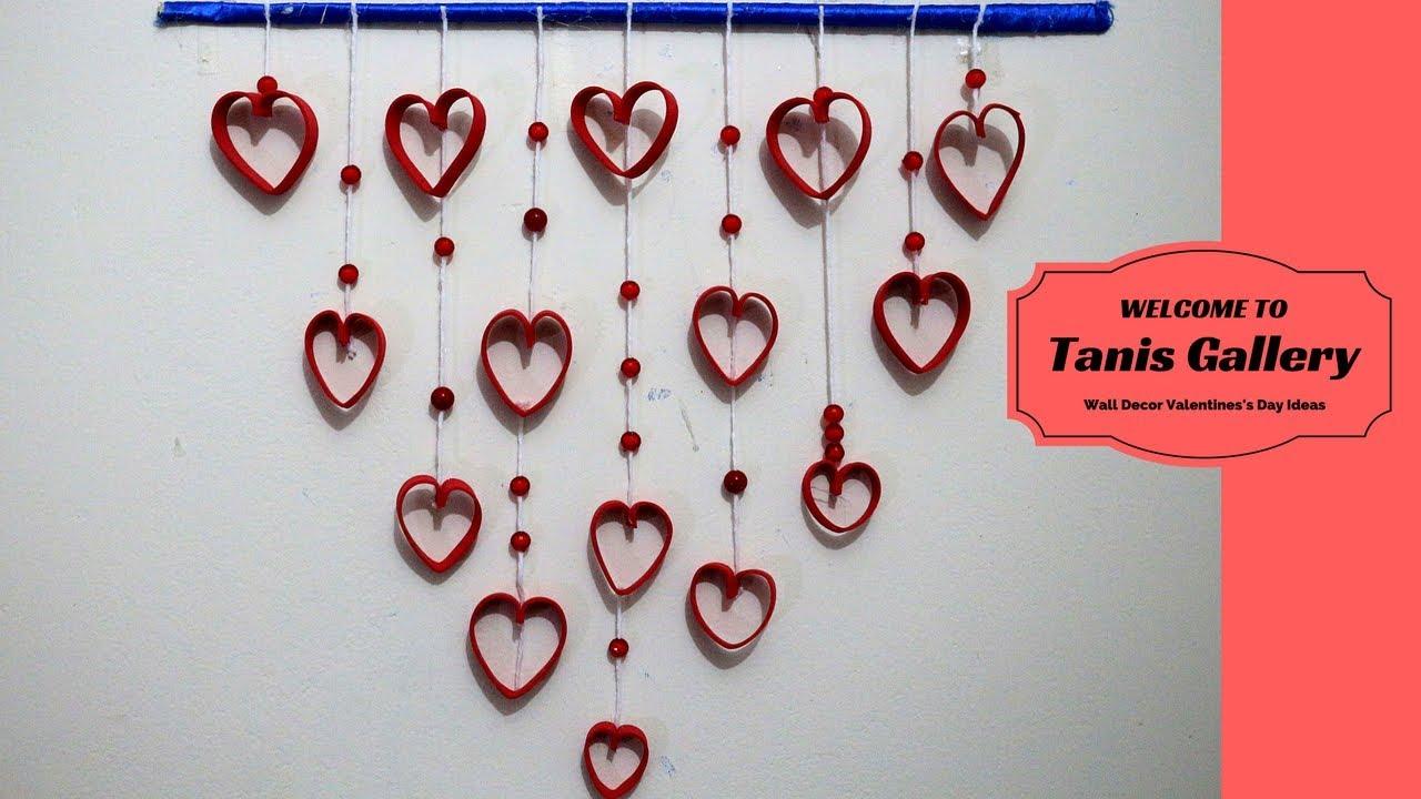 Diy Wall Decor Valentines S Day Ideas Romantic