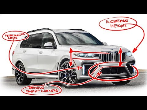 2019 BMW X7 Re-design - Why it's all in the details