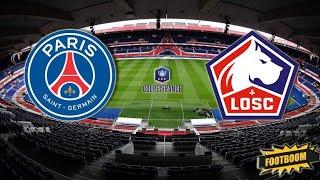 Прогноз на матч Чемпионата Франции ПСЖ - Лилль смотреть онлайн бесплатно 03.04.2021