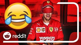Reacting to F1 Reddit