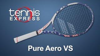 Babolat Pure Aero VS Tennis Racquet Review | Tennis Express