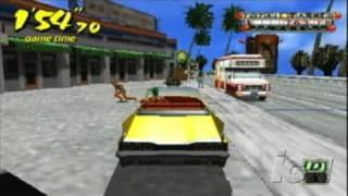 Crazy Taxi: Fare Wars Sony PSP Gameplay - Out of