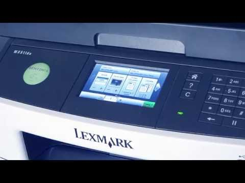 Making A Copy On Lexmark MFP With Sentinel Embedded Printing Software