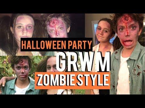 GRWM - Zombie Style Ft. Austin Brown | Ava Bianchi ☆