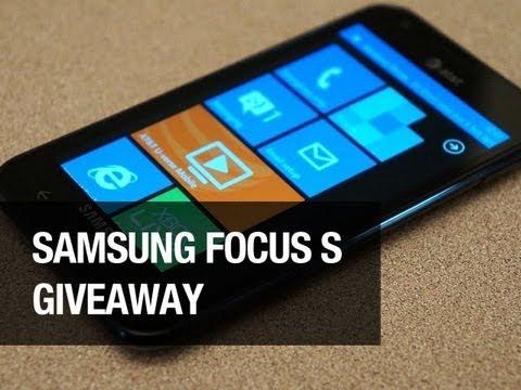 Samsung Focus S Giveaway!