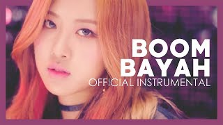 BLACKPINK - BOOMBAYAH (official instrumental snippet)
