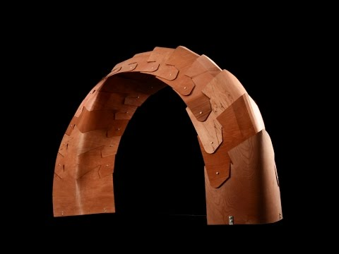 PLAY with PLYWOOD: Surface Active Structures - Kalantar + Borhani (Instructors)