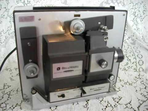 bell amp howell super 8 movie projector autoload 8mm youtube