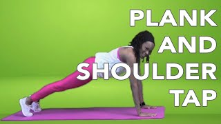 Workout with BH Fit | Plank & Shoulder Taps