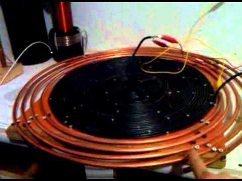 Self Oscillating Circuit With Self Resonating Transfor