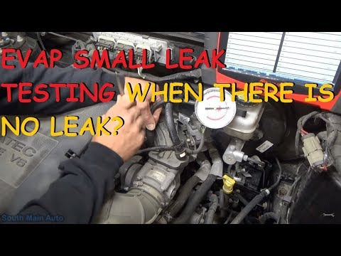 "P0456 Small EVAP Leak - What To Check When You Can't ""See"" The Leak"