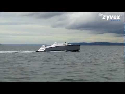 Zyvex Marine - Piranha Unmanned Surface Vessel (USV) Concept [720p]