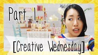 DIY MINIATURE KITCHEN KIT! 1/3 CREATIVE WEDNESDAY