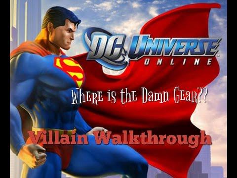 DCUO | WHERE IS THE DAMN VENDOR GEAR | T1-T8 PVE Villain Side