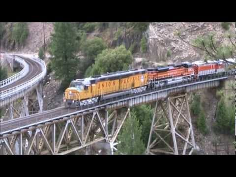 HiDef: UP 6936 Centennial Chase (FRRS Dunsmuir Railroad Days Museum Train 2012)