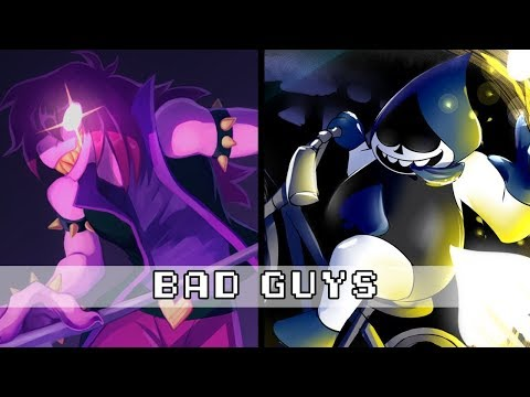 DELTARUNE - BAD GUYS (Susie x Lancer battle) Remix