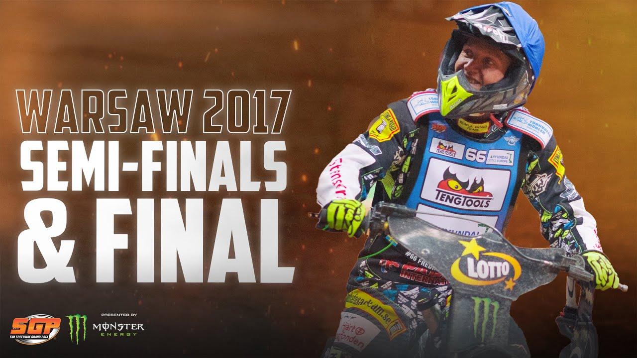 Semi-Finals & Final from Warsaw 2017! | FIM Speedway Grand Prix