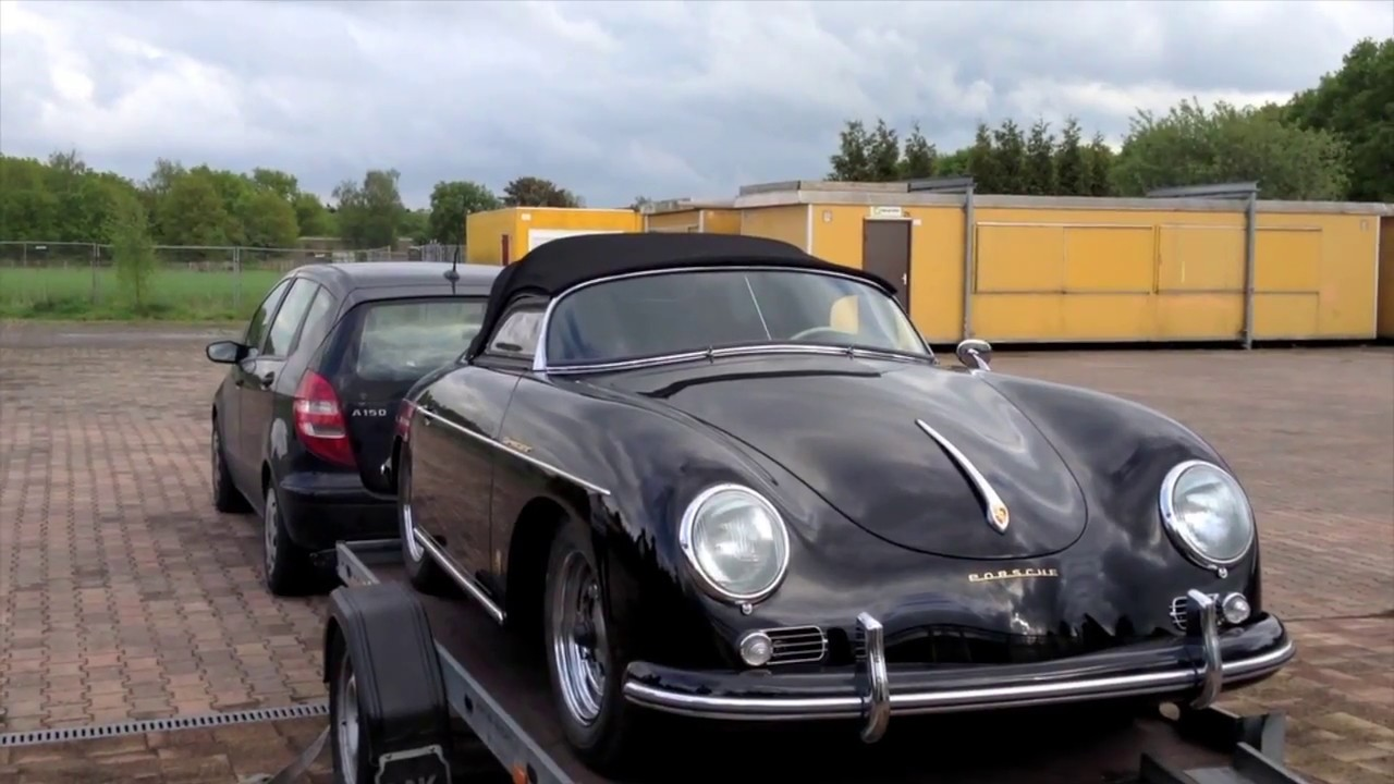 cabrio partner porsche 356 speedster cabriokap en interieur vernieuwen youtube. Black Bedroom Furniture Sets. Home Design Ideas