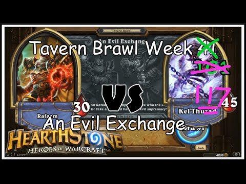 Hearthstone: Tavern Brawl - An Evil Exchange - Week 117 - A Third