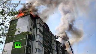 В Южно-Сахалинске загорелся 10-этажный дом: введён режим ЧС