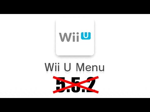 DON'T UPDATE YOUR WII U! Stay on 5.5.1!