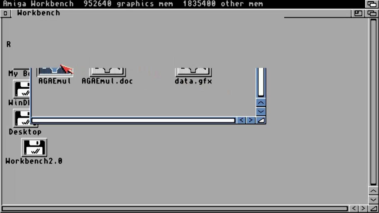AMIGA AGA EMULATOR v1 0 GAG Emulate AGA chipset on your Amiga