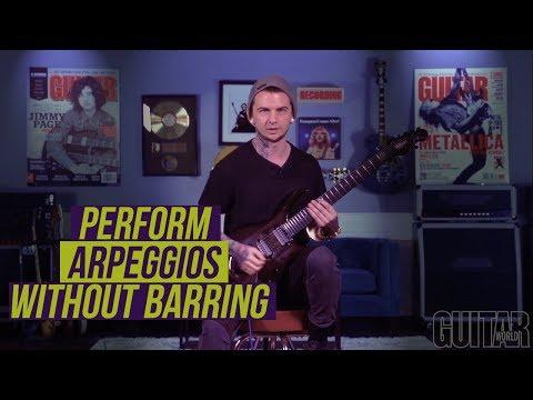 Jason Richardson on performing arpeggios without barring