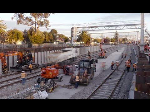37 days of works at Ormond, McKinnon and Bentleigh