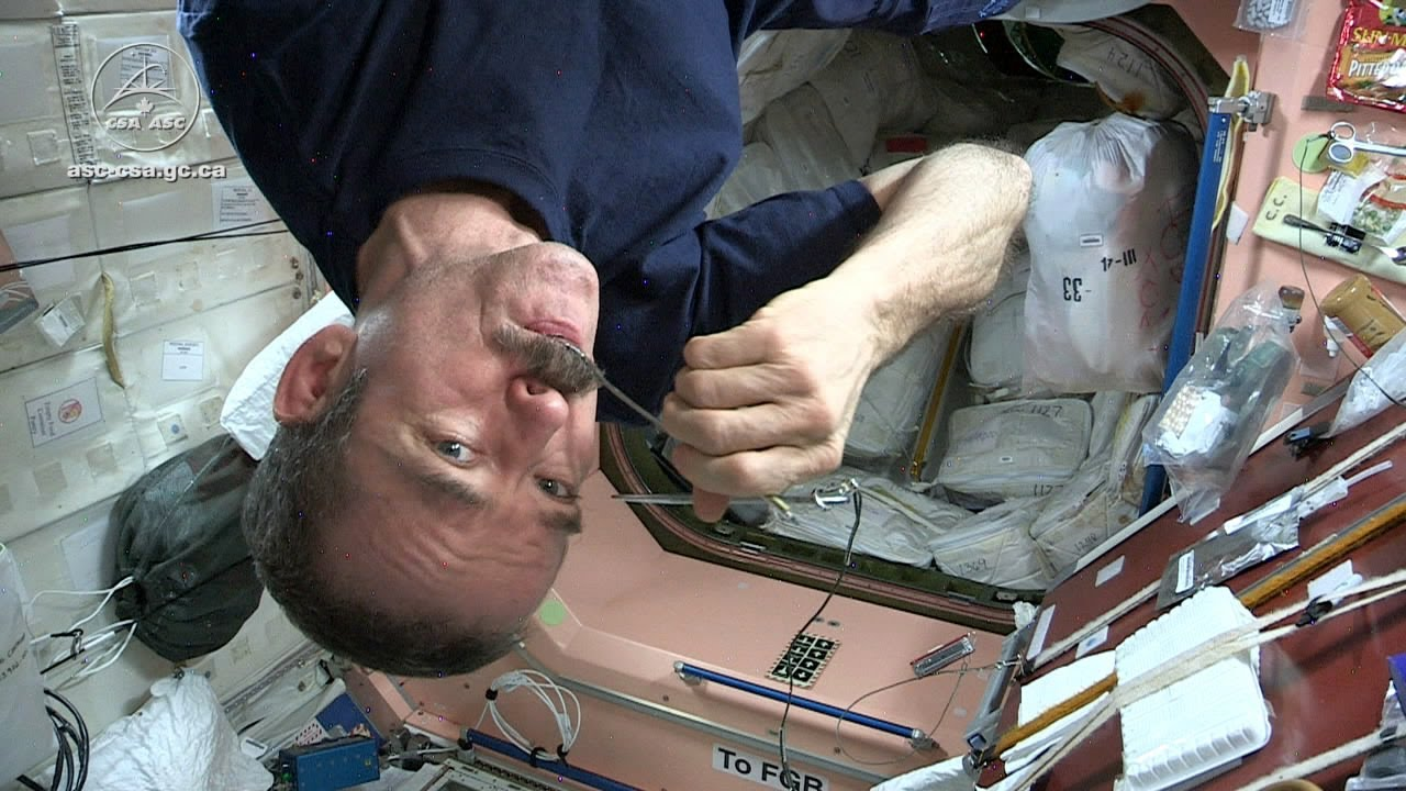 Astronaut Chris Hadfield and Chef David Chang Test Gourmet ...