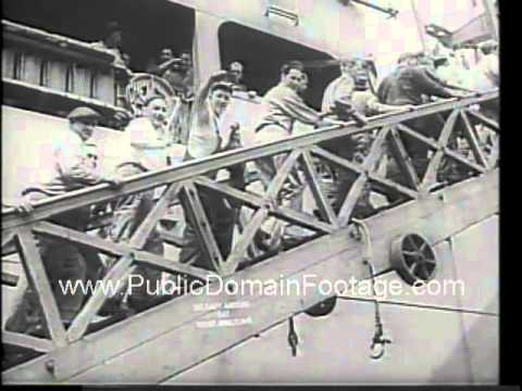 Brooklyn Navy Yard closes after 165 years  - 1966 newsreel archival footage