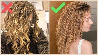 Как НА САМОМ ДЕЛЕ нужно ухаживать за кудрявыми волосами КУДРИ