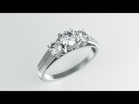 Modeling Diamond Ring with Blender 2.77