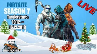 Großes Fortnite Weihnachtsturnier | V-Bucks |  🔴Live | [PC/PS4/Xbox/Switch] Battle Royale