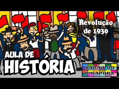 Aprendendo com Videoaulas: História: Revolução de 30