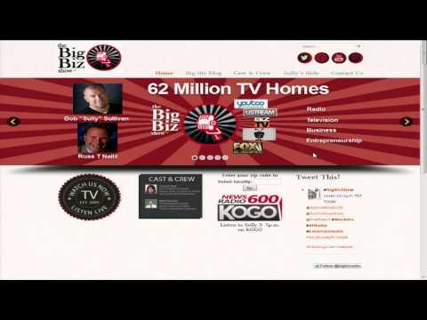 "Adam Witty's Radio Interview on ""The Big Biz Show"""