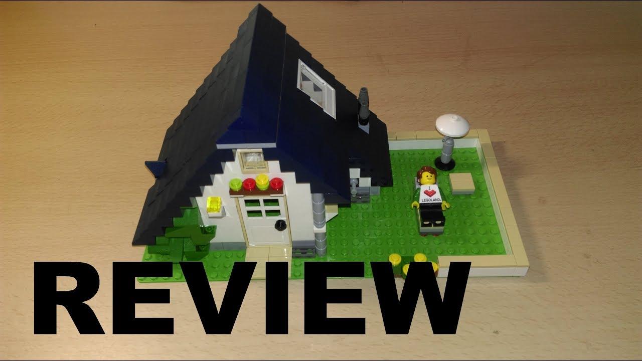 REVIEW LEGO CREATOR 5891 Haus mit Garage