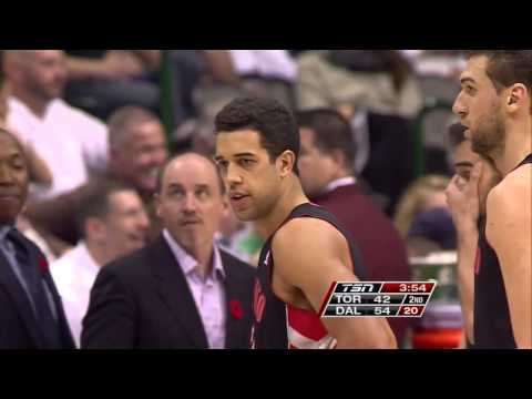 Landry Fields Fastbreak Fail
