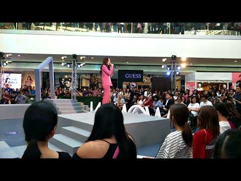 Megan Young inspires woman at SM woman's month event