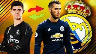 Baixar Schimb de Portari Pleaca Courtois Vine De Gea la Real Madrid || FIFA 19 Romania Real Madrid #12