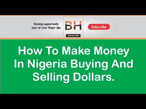 🔴 How To Make Money In Nigeria Buying And Selling Dollars | Make Money Online