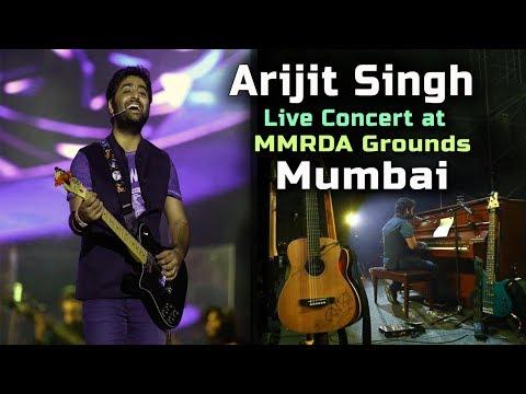 Arijit Singh Live Concert at MMRDA Grounds, Mumbai 2017