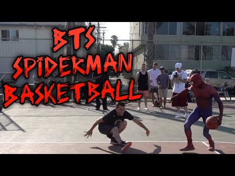 BTS Spiderman Basketball Ep 9. Full Day in Long Beach, California