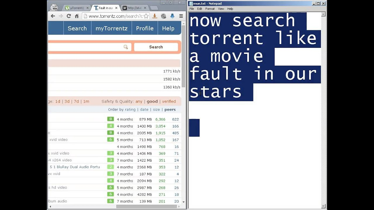 How to download torrent (for kids only) - YouTube