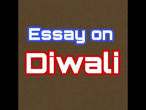 english essay on diwali