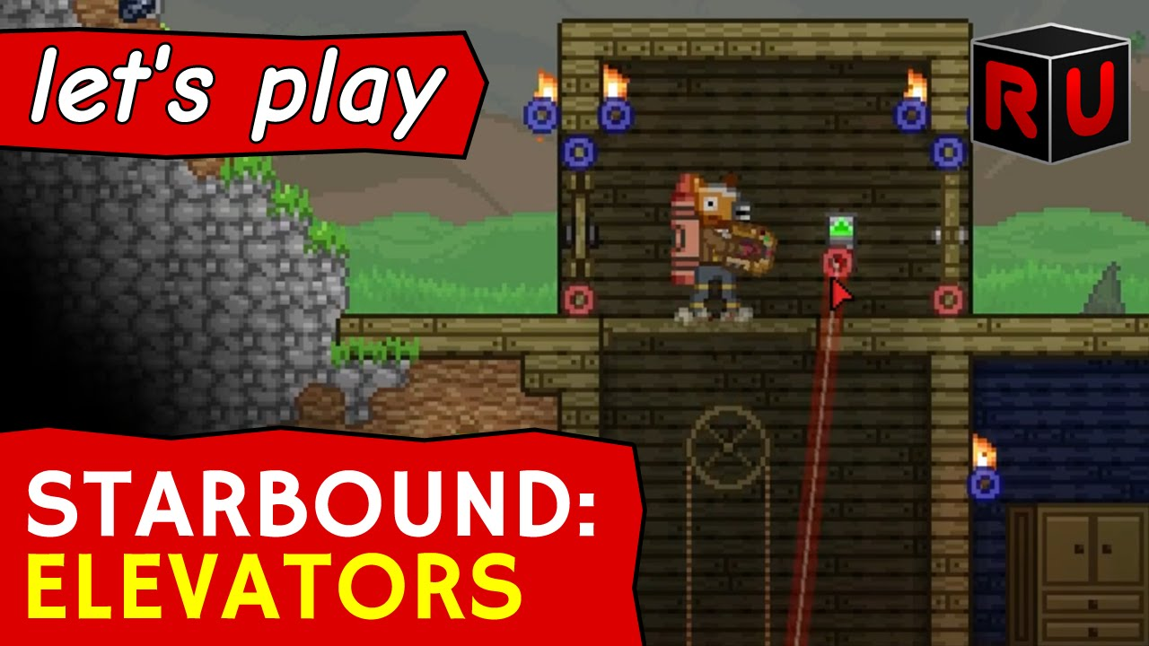 new elevators how to wire them starbound combat update glad rh youtube com Electrical Wiring Tools Home Wiring Tools
