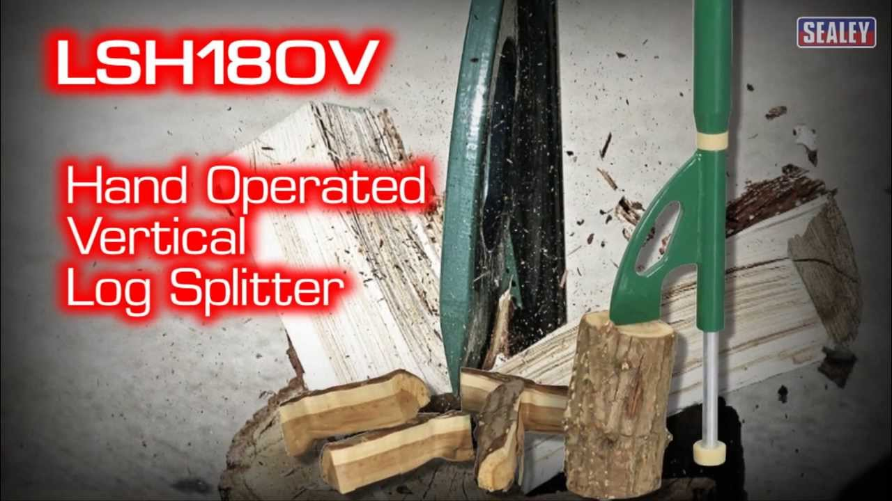 Sealey lsh180v hand operated vertical log splitter youtube sealey lsh180v hand operated vertical log splitter sciox Gallery