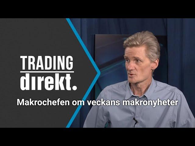 Trading Direkt 2021-05-14: Teknisk analys & Makrochefen om veckans makrohändelser