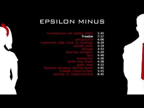 Epsilon Minus - Epsilon Minus (Full Album)